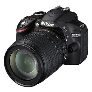 Nikon 尼康 D3200 单反相机 (含18-105 VR防抖镜头)3399元(券后3299元 有多件赠品)