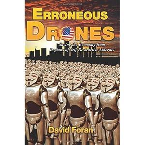 Erroneous Drones Paper Back\/David J Foran-