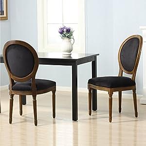圆背复古风格 餐桌椅