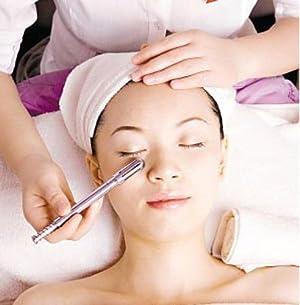 香薰温灸spa经络美容按摩套装美容棒+3根艾条+精油