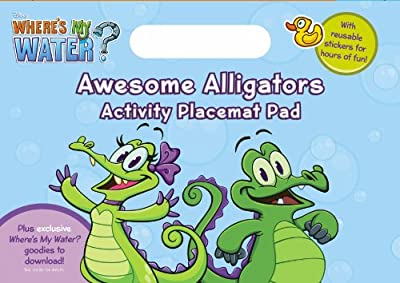 Where's My Water: Awesome Alligators Activity Placemat Pad.pdf