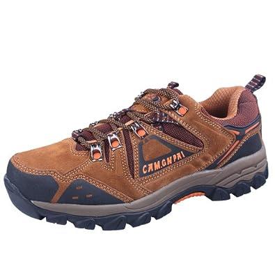 CAM.GNPAI 骆驼队长 经典款户外鞋 优质反绒牛皮 AA238001733