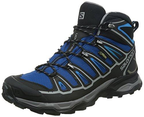 Salomon Men's X Ultra Mid 2 GTX Hiking, Gentian, 11 D US