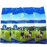 澳滋 /OZ FARM速溶全脂奶粉1kg*3袋 100%澳大利亚原装进口 成人奶粉(买就送5g进口海苔片)活动时间为1周  生产日期2013年12月17日-2015年12月17日-图片