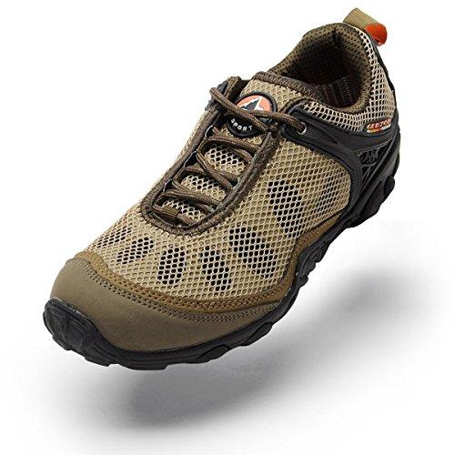 GERTOP 户外鞋 夏季超轻透气排汗速干网布鞋 徒步鞋男鞋