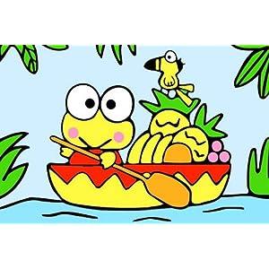 20x30 划船小青蛙