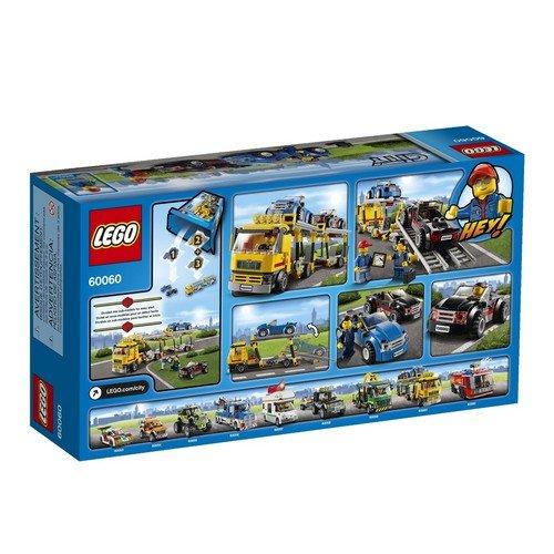 LEGO 乐高 城市组 汽车运输车 60060