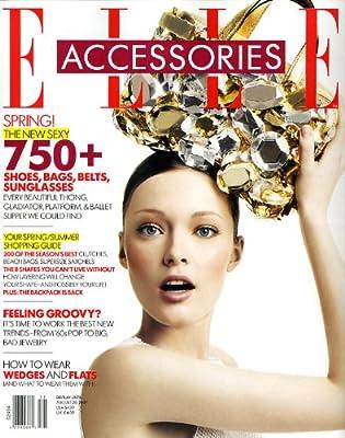进口年订杂志:ELLE ACCESSORIES Magazine 2014年全年订.pdf