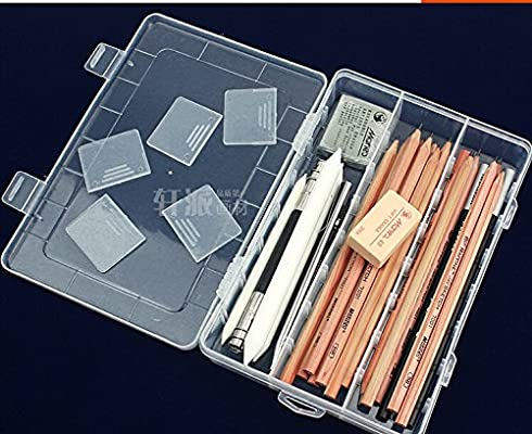 中华美术铅笔盒笔袋绘画铅笔素描工具图片