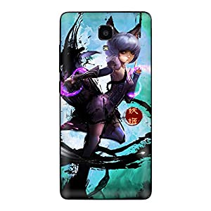 游戏 小米4 手机贴纸 彩膜 保护套贴纸 手机膜 背贴5016
