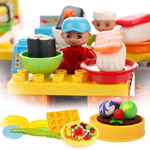 peipeile 培培乐 儿童益智彩泥diy橡皮泥玩具 超级大餐图片