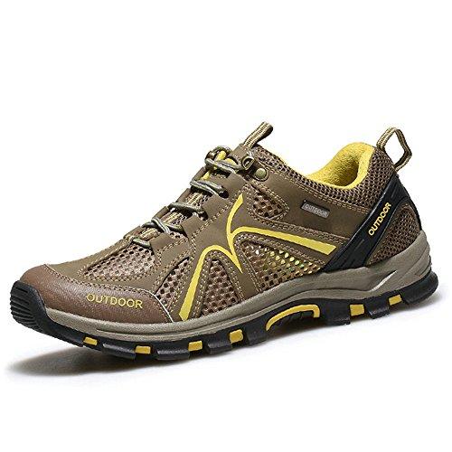 AFS JEEP 战地吉普 男装越野跑鞋夏季网面透气休闲运动鞋登山旅游鞋146014192