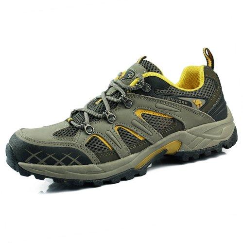 CAN.TORP 骆驼 男鞋 户外男款轻便鞋透气 徒步鞋 登山鞋 E11662