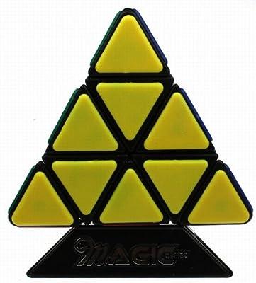 qj奇积 新品金字塔魔方 精装版 三角形金字塔异形魔方