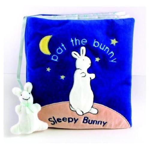 《Sleepy Bunny》宝宝互动故事布书