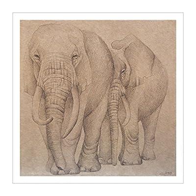 大象装饰画|大图像|大象|装饰艺术分类|装饰艺术收藏|野生动物装饰画