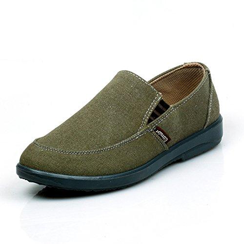 Warrior 回力 3007 韩版潮男士商务一脚蹬懒人帆布休闲鞋