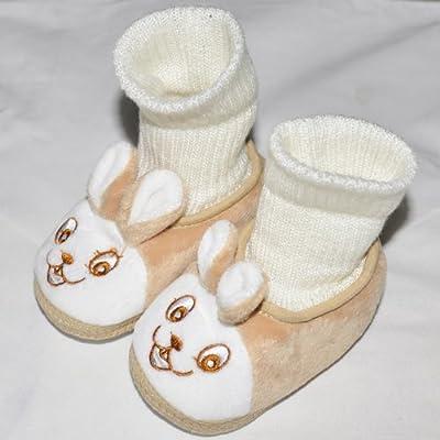 舒适宝宝学步鞋 冬季婴儿鞋子 软底防滑鞋 可爱小免子