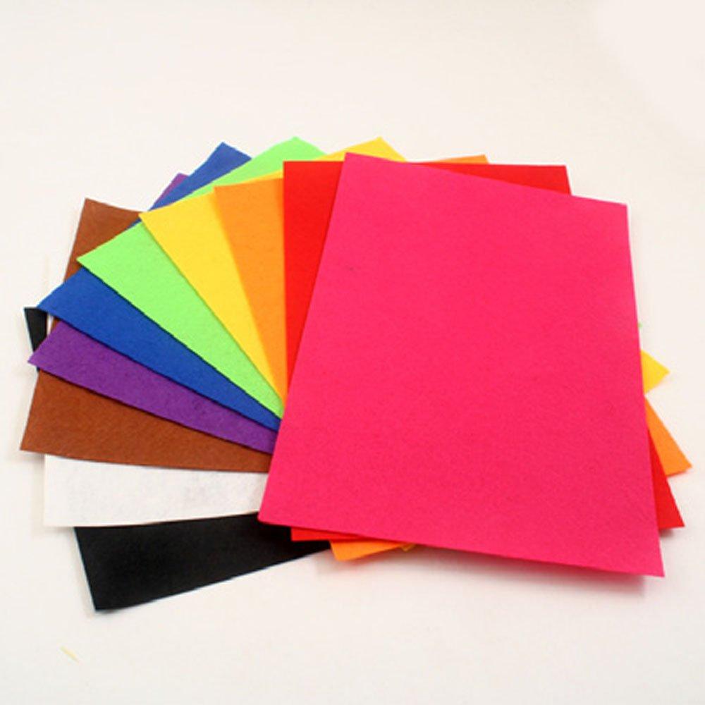七色花 幼教 幼儿园 diy 手工 美术 创意 制作 材料 彩色 多色 无纺布