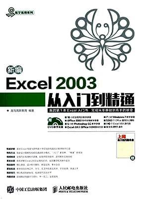 新编Excel 2003从入门到精通.pdf