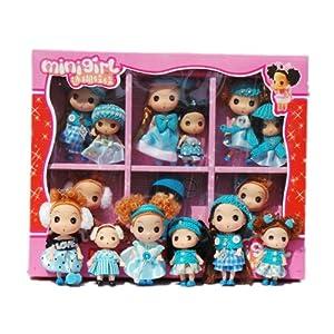 娃女孩玩具礼盒套装