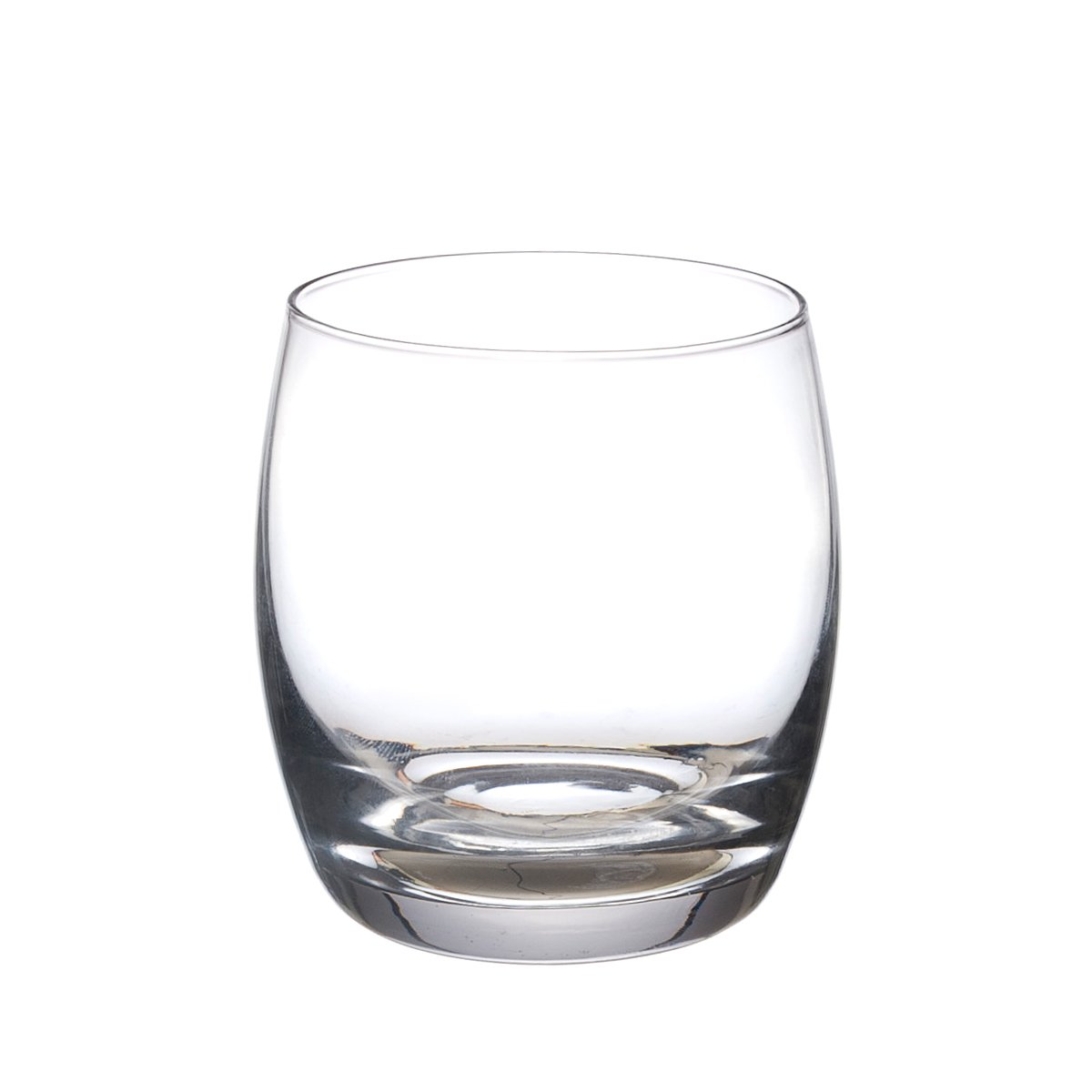 circle 透明玻璃杯 低口杯 水杯 杯子410ml