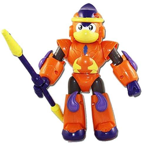 回至 中南卡通 钢甲卡卡龙 12生肖变形玩具 吸塑板益智 动漫玩具