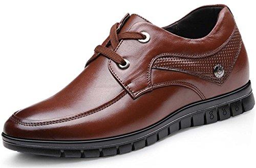 Guciheaven 英伦男士皮鞋 时尚商务休闲皮鞋 正装鞋 户外休闲鞋 内增高男鞋JRSGH906(隐形内增高6厘米)