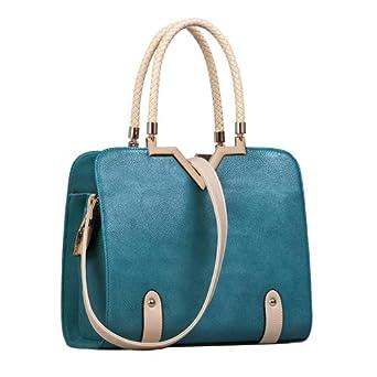 美约2013新款女包 菱格手提包
