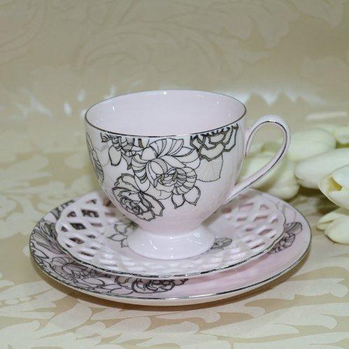 ceramic life 瓷语生活 咖啡杯套装 欧式茶具咖啡器具 韩国创意陶瓷杯