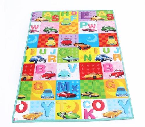 babysong 婴歌 跳房子,酷熊,汽车,恐龙,字母方格,游乐园 爬行垫 双面