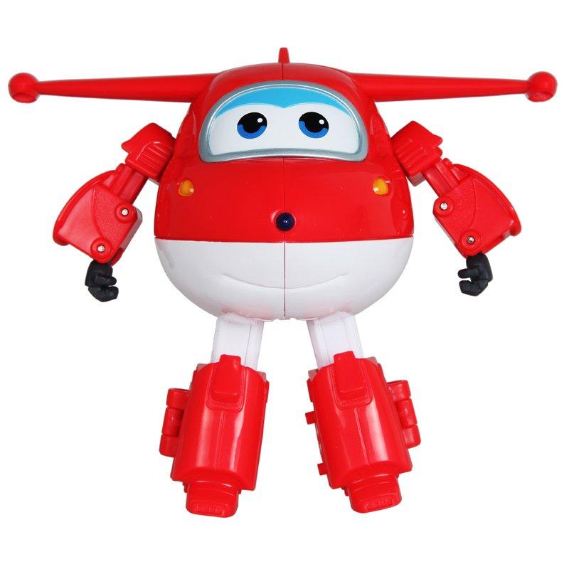 超级飞侠 儿童玩具男孩益智大号变形机器人 飞机 (超级飞侠-乐迪变形