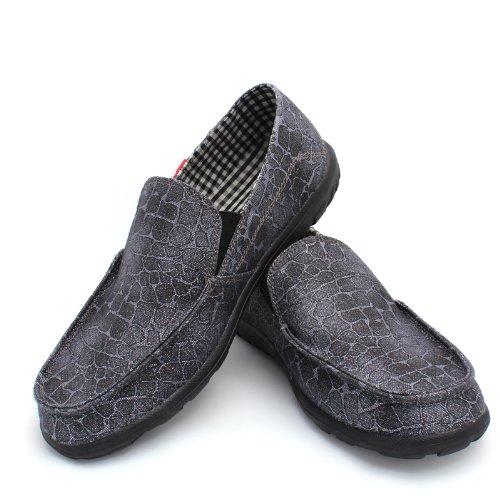 NORVINCY 诺凡希 格纹帆布时尚潮流 男鞋 帆布鞋 韩版休闲流行男鞋 NVC12017 3.28