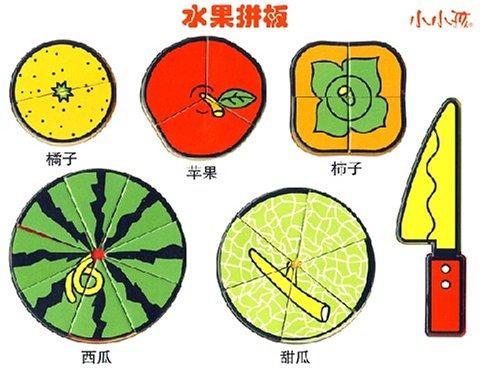 水果拼板 小小孩图片