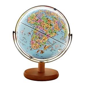 fun地球※10寸(25cm)动物版行政图全圆地球仪