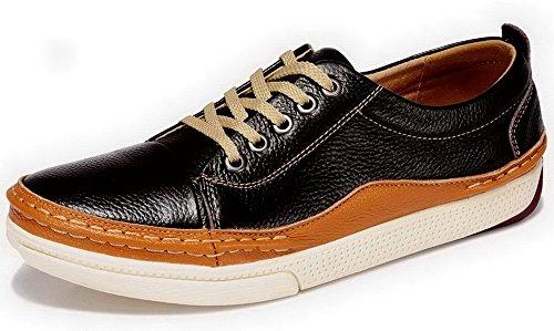 Guciheaven古奇天伦 头层牛皮男鞋 日常休闲鞋 板鞋子 低帮驾车鞋 时尚潮流男式鞋子 5G705