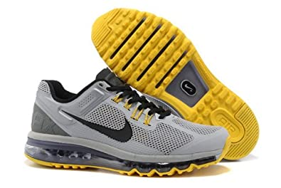 airmax2013休闲运动系列拉丝面男女鞋全掌气垫跑步鞋专业运高清图片