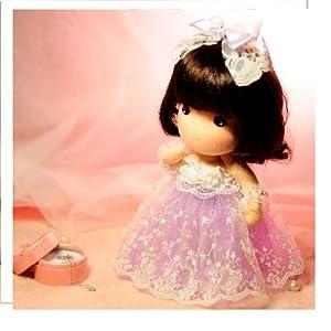 temi 糖米原创 可爱玩偶布娃娃手工diy材料包 茜茜公主 升级版免裁剪