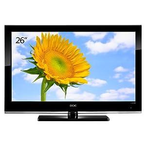 BOE 京东方26英寸液晶电视 LC-26W88(智能亮度识别/换台音量不变/内置底座)