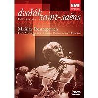 进口DVD:德沃夏克B小调大提琴协奏曲 Op.104 圣-桑:A小调第1大提琴协奏曲
