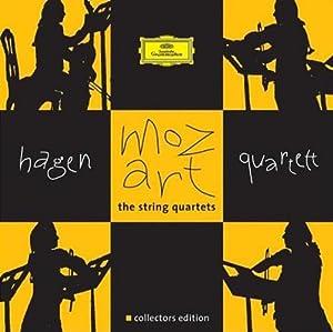 进口cd:莫扎特弦乐四重奏哈根4776253(7cd)