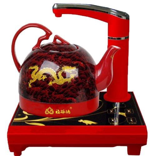 福瑞德陶瓷电热水壶 fh-bf26自动上水 0.6l 800w