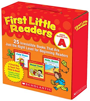 First Little Readers Parent Pack: Guided Reading Level A: 25 Irresistible Books That Are Just the Right Level for Beginning Readers.pdf