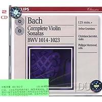 进口CD:巴赫:小提琴奏鸣曲全集
