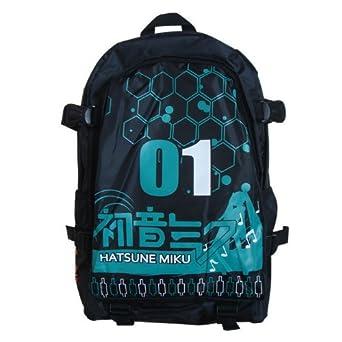 冰容 初音未来书包 01宫川武背包 初音未来logo双肩包