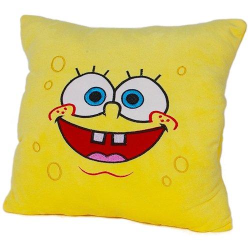 瑞奇比蒂 海绵宝宝暖手靠垫抱枕 大笑图片