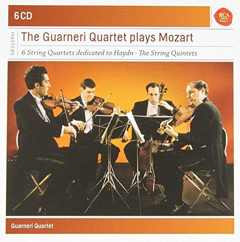 进口cd:瓜奈里弦乐四重奏演奏莫扎特弦乐四重奏/五重奏 mozart the