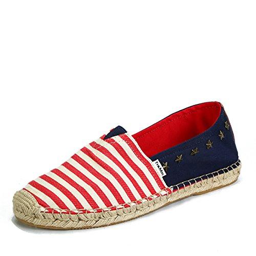Tt&Mm 汤姆斯 新款帆布鞋男韩版男一脚蹬男生懒人鞋休闲鞋渔夫鞋533203M