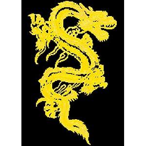 万众家园 十字绣 客厅动物画 中国黄龙 14ct 朵拉线 2