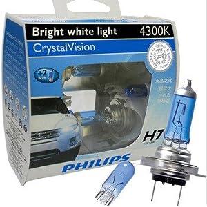 飞利浦水晶之光新银战士h7汽车灯泡高清图片